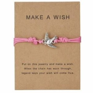 Jewelry - 2/$20 🐦 Make A Wish Adjustable Bracelet
